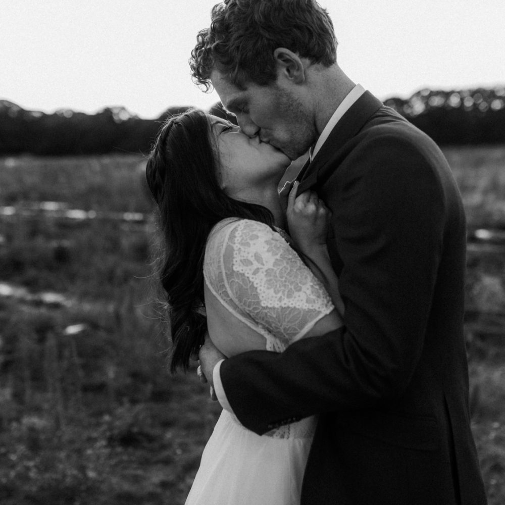 Romantic + Intimate Wedding at Ash Tree Barns – Jess + Tom