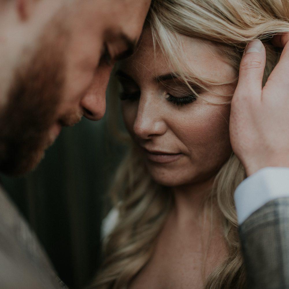 Romantic Winter wedding at Upwaltham Barn – Tom + Sarah